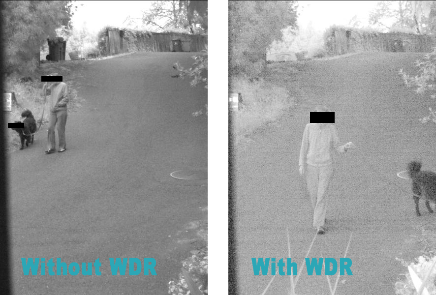 Sunrise twilight WDR comparison
