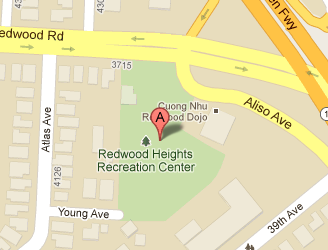Direction to Redwood Heights Recreation Center